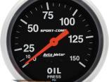 "AutoMeter 2-5/8"" давления масла, 0-150 [ATM-3423]"