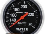 "AutoMeter 2-5/8"" температуры жидкости, 120-240 F [ATM-3433]"