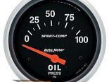 "AutoMeter 2-5/8"" давления масла, 0-100 Psi [ATM-3522]"