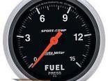 "AutoMeter 2-5/8"" давления топлива, 0-15 Psi [ATM-3561]"