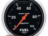 "AutoMeter 2-5/8"" давления топлива, 0-100 Psi [ATM-3563]"