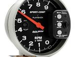 "AutoMeter 5"" тахометр Playback, 9,000 Rpm [ATM-3966]"