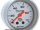 "Autometer Ultralite 2 1/16"" Mechanical 0-100 PSI давление масла Датчик"