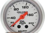 "Autometer Ultralite 2 1/16"" Mechanical 0-200 PSI давление масла Датчик"