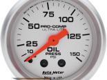 "Autometer Ultralite 2 1/16"" Mechanical 0-150 PSI давление масла Датчик"