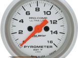 """AutoMeter 2-1/16"""" E.G.T. Pyrometer [ATM-4343]"""