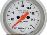 "AutoMeter 2"" E.G.T. комплект, 0-1600`F [ATM-4344]"