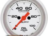 "Autometer Ultralite 2 1/16"" 0-100 PSI Electric давление масла Датчик"