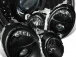 Передние фары на MERCEDES BENZ 98-02 PROJECTOR Чёрный