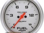"AutoMeter 2-5/8"" давления топлива, 0-15 [ATM-4461]"