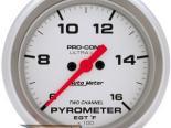 """AutoMeter 2-5/8"""" E.G.T. Pyrometer [ATM-4466]"""