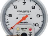 "AutoMeter 5"" тахометр Dual Range W/Memory, 10,000 Rpm [ATM-4499]"