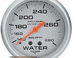 "AutoMeter 2-5/8"" температуры жидкости, 140-280F Lfg [ATM-4631]"