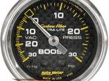 """AutoMeter 2"""" Boost, 30 In. Hg/30 Psi [ATM-4703]"""