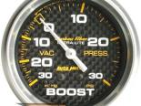 """AutoMeter 2-5/8"""" Boost/Vac, 30 In. Hg/30 Psi [ATM-4803]"""