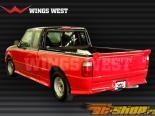 Накладка на задний бампер W Type на Ford Ranger 1998-2008
