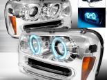 Передняя оптика для Chevy Trail Blazer 02-05 Halo Projector Хром: Spec-D