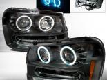 Передняя оптика для Chevy Trail Blazer 02-05 Halo Projector Чёрный: Spec-D
