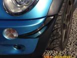 M7 Speed Карбоновый ADF Canards Set для стандартный Bumpers Mini R53 Cooper S 02-06