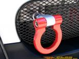 M7 Speed Красный Billet Aluminum Foldable Tow Hook with Logo Mini Cooper R53 02-06
