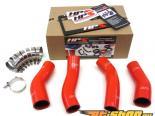 HPS Silicone Intercooler Turbo Комплект патрубков Красный для Nissan 90-96 300ZX Twin Turbo