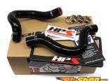 HPS Silicone силиконовые патрубки Чёрный для Nissan 07-09 Sentra SE-R / SE-R Spec V