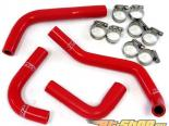 HPS Левый Hand Drive Reinforced Красный Silicone Heater Комплект патрубков Coolant Jeep Wrangler JK | Unlimited 3.6L V6 12-14