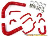 HPS High Temp Reinforced Silicone силиконовые патрубки Красный Toyota 4Runner 3.0L V6 90-95