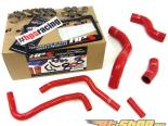 HPS High Temp Reinforced Silicone Radiator Plus Heater Hose Красный Subaru BRZ 13-14