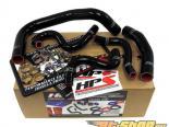 HPS High Temp Reinforced Silicone Radiator Plus Heater Hose Чёрный Toyota Corolla 85-87