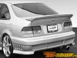 Спойлер на Honda Civic 1996-2000 Commando No Light