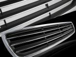 Решётка радиатора Чёрный|Хром на Audi A4 1997-1998