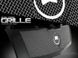 Стальная чёрная решётка радиатора для Cadillac Escalade 2002-2006