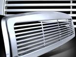Решётка радиатора на Dodge Ram 94-01 DIAMOND Хром