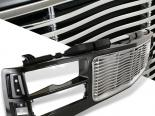 Решётка радиатора Wave Стиль Чёрный|Хром для GMC Fullsize 1995-2001