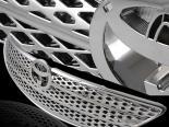 Решётка радиатор для  Toyota Camry 02-04 стандартный Хром