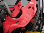 Status Racing Standard Ring Bucket Сидения Карбоновый Alcantara - FIA Approved