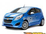 3dCarbon передний  Air Dam Chevrolet Spark 2LT 2013