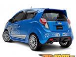 3dCarbon задний Lower диффузор Chevrolet Spark 2013