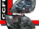 Передние фонари для LEXUS RX300 01-03 Dual CCFL HALO ANGEL EYES
