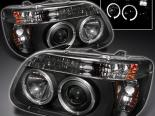 Передние фонари для Mercury Mountaineer 1997 DUAL HALO PROJECTOR BLACK