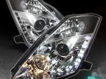 Передняя оптика для  NISSAN 350Z 03-05 DRL PROJECTOR