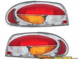 Задние фары на Nissan Altima 93-97 Clear Красный