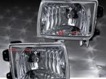 Передняя оптика на  NISSAN Xterra 1998-2000 EURO CLEAR CHROME