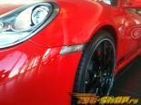 Поворотники в передний бампер для Porsche Boxster 2009+ Clear