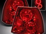 Задняя оптика для VOLKSWAGEN JETTA 99-05 TWIN HALO Красный