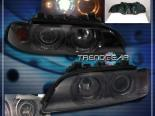 Передняя оптика на BMW E39 5-SERIES 97-03 HALO PROJECTOR Тёмный