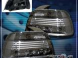 Задние фары на BMW E39 5-SERIES 2001-2003 Тёмный Хром