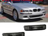 Поворотники в передний бампер для BMW E39 5 Series 97-03 Тёмный