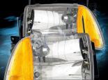 Передняя оптика для Chevrolet Blazer 95-97 Crystal Chrome Clear